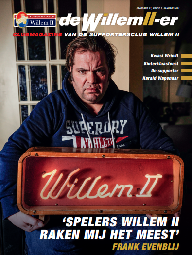 EZ Projects te zien in de supportersmagazine van Willem 2